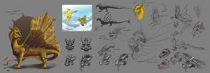AoH: Storm Dragon design progress