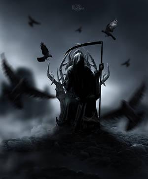 Grim in crows by IMertTmyksl