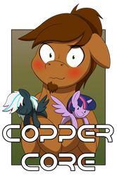 Copper Core (Con badge)