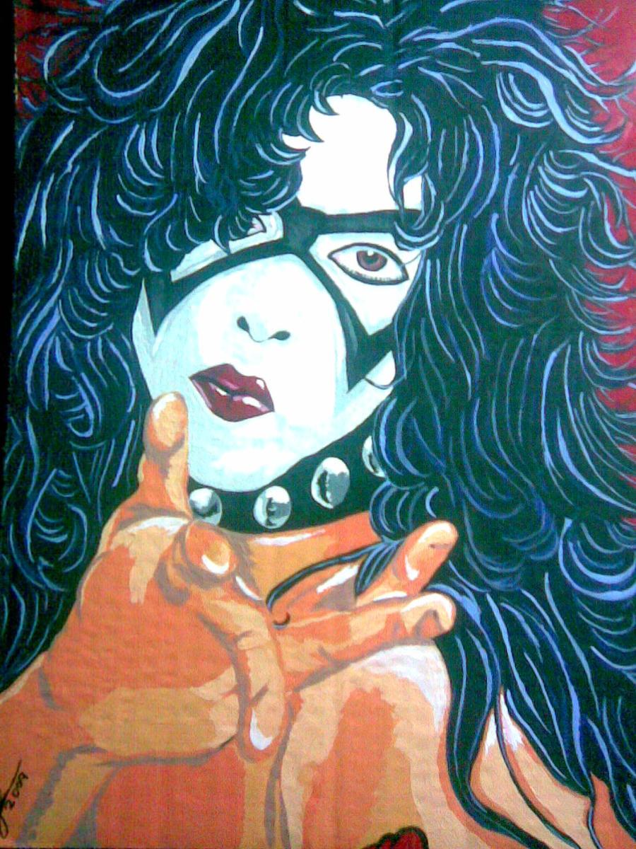 1973 paul stanley by Glammed-dreamsPaul Stanley 1973