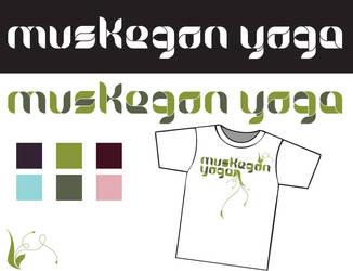 Muskegon Yoga Logo Concept 2