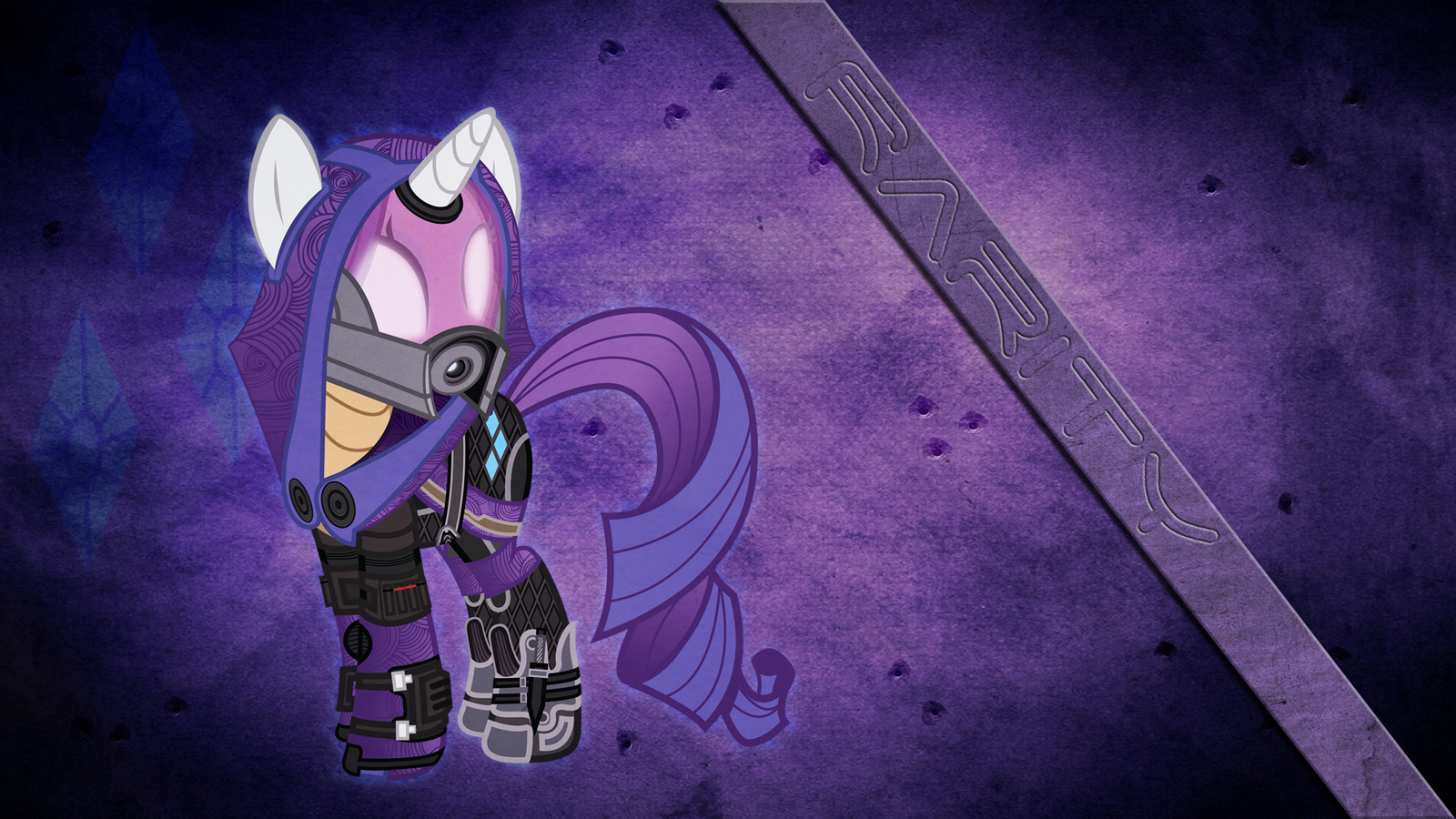 Tali Rarity Mass Effect Wallpaper by Ion-Death