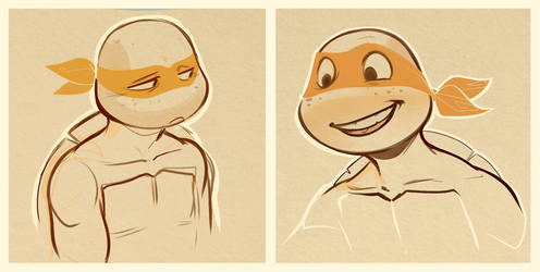 Mikey Sketches