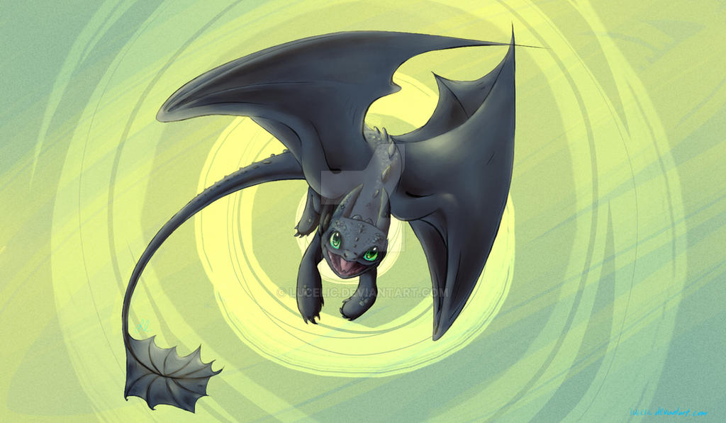 Toothless wallpaper by lucelic ...