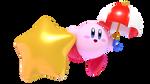 Parasol Kirby Render (Kirby Blender Rig V4)