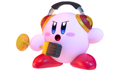 Mike Kirby Render (Kirby Blender Rig V4) by TheGoldenMCL