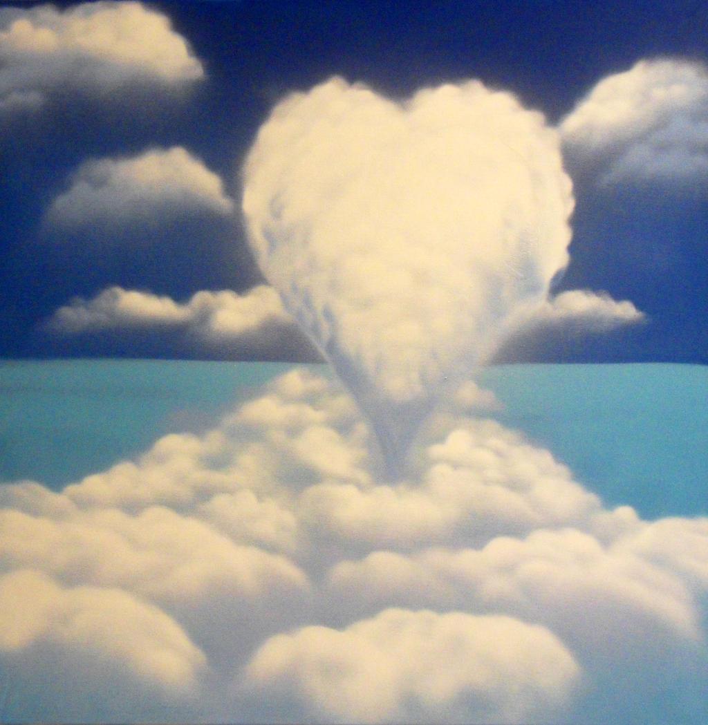spray paint heart clouds on canvas xl sizeairgone on deviantart