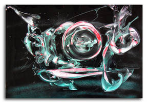 Spray painting Abstract - Swirl swirl swirl by Airgone