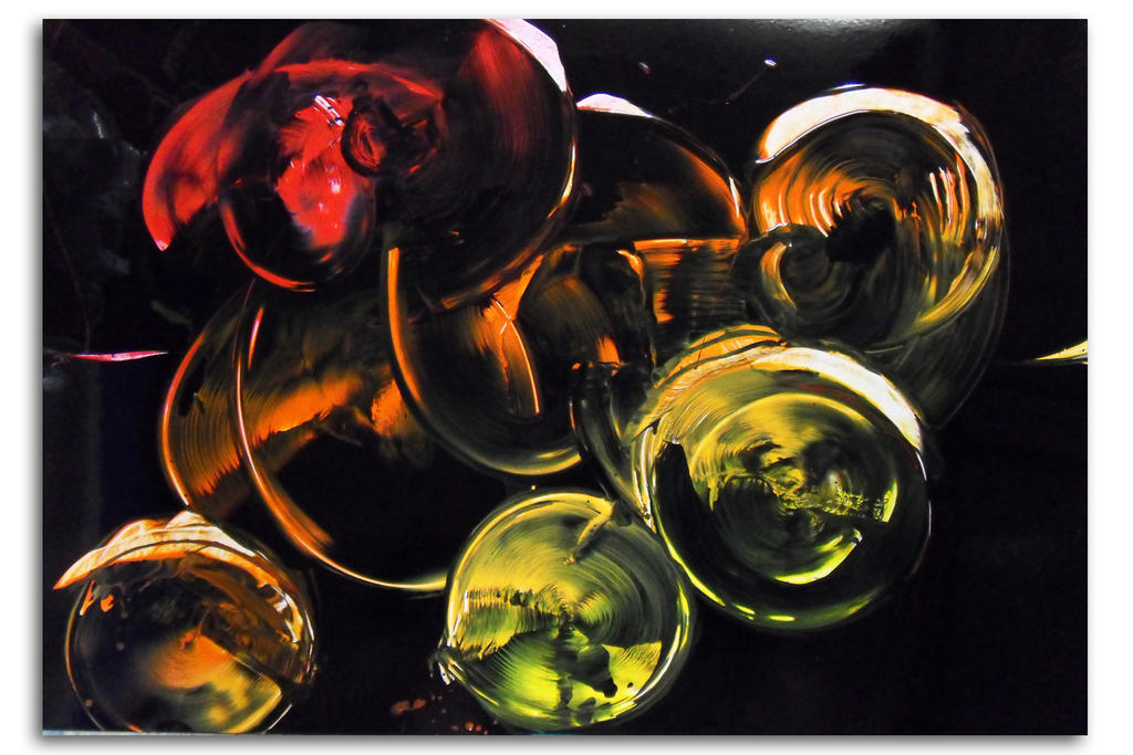 Spray painting Abstract - Bubble time by Airgone on DeviantArt
