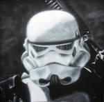 Airbrush Stormtrooper IN PROGRESS step 3