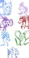 Dragon Sketch Dump