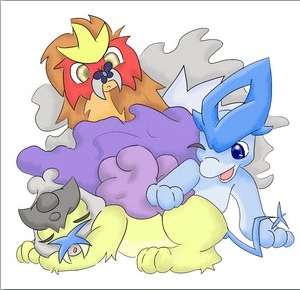 + Entei - Suicune - Raikou + by TheLegendaryThree