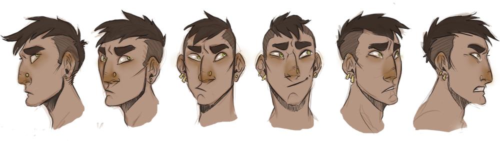 Faces of Tei by Cat-Bat