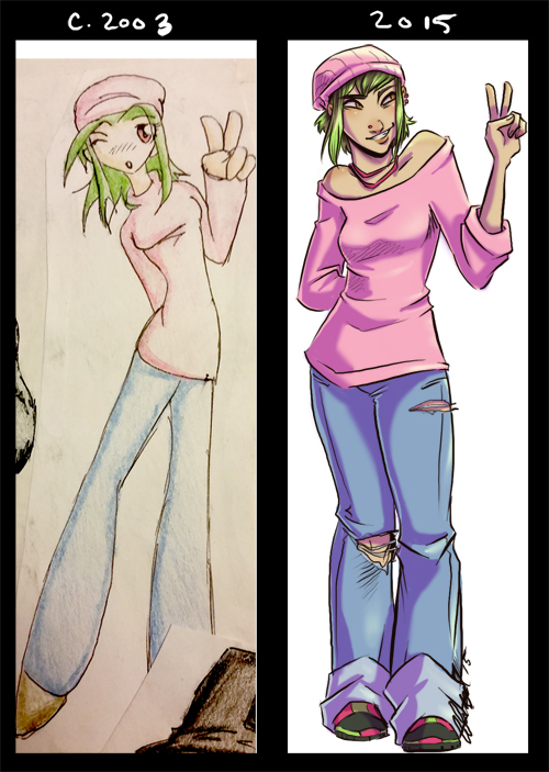 12 Years of Improvement by Cat-Bat