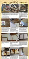Paper Staining for the Lazy and Cheap by CatBatArt