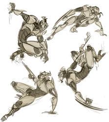 Karn Gestures by CatBatArt