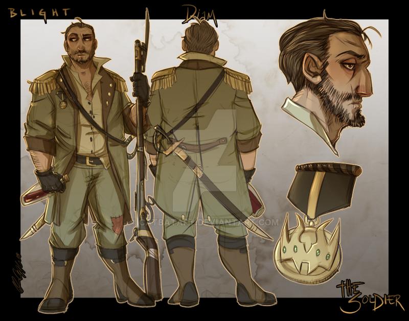 Blight: Soldier by Cat-Bat
