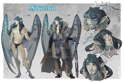 Character Sheet Commission: Shran for Wilde