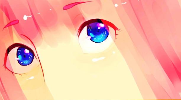 Practising Anime Eyes by evuchichii