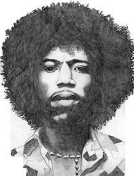 Jimi Hendrix by Toshiba-Cat