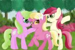 Flower Trio (Gift for Startled Flower Pony)