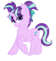 adult Glimmy with pigtails by RainbowTashie