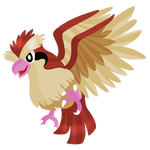 Pidgey lineless by RainbowTashie