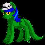 Lizardwithhat by RainbowTashie