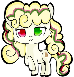Sallad Chibi For Flowerpone by RainbowTashie