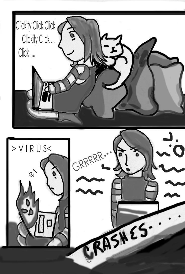 Cyborg Comic pg 1 by TimeAngel-113224400
