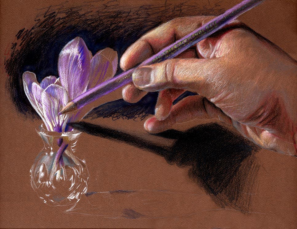 Hand of the Artist by AmandaSpaid