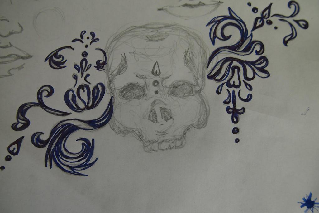 sketch tattooo by thedrumergirl