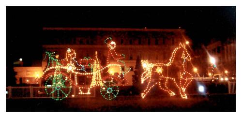 Morgan Square Christmas Lights