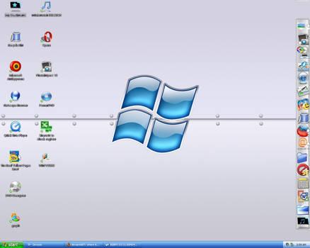 My XP Aqua Desktop
