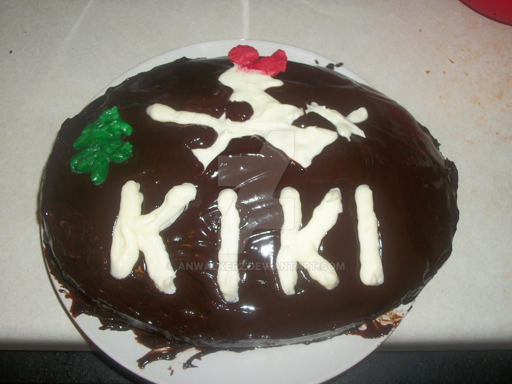Kikis Delivery Service Cake by anwalker2 on DeviantArt
