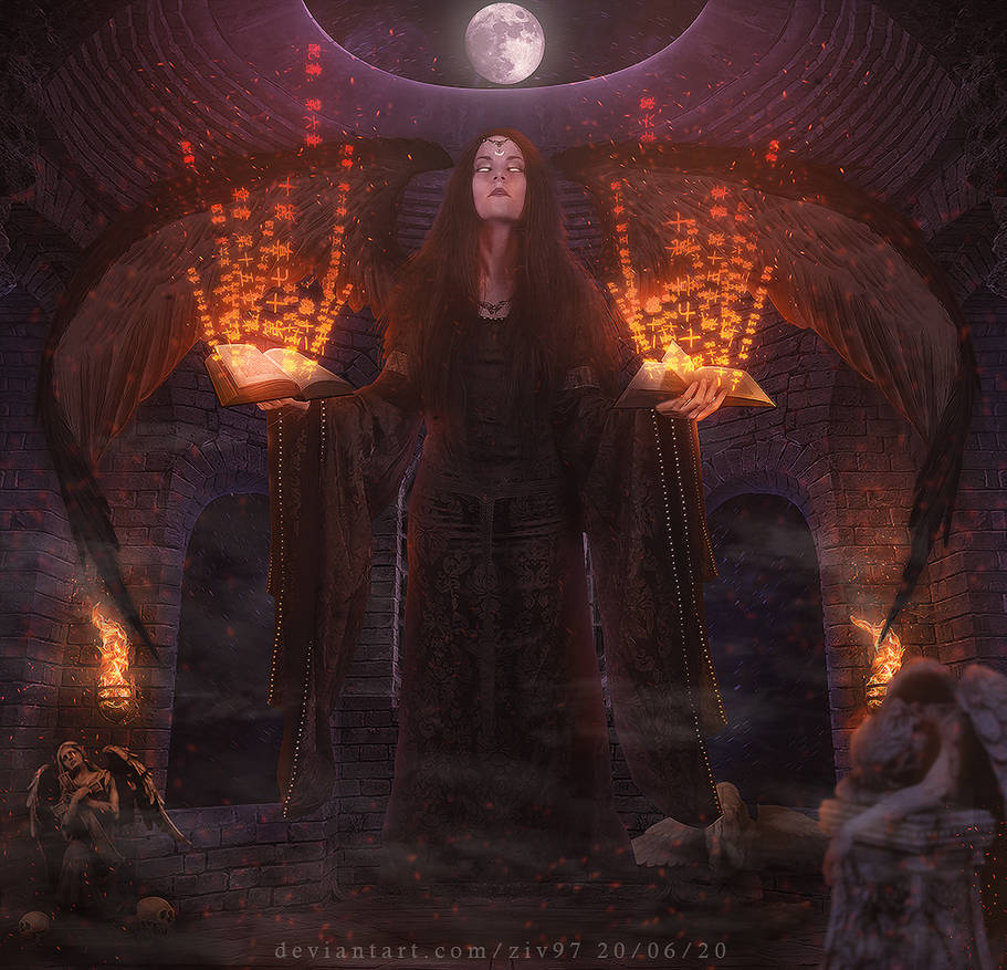 Witch photomanipulation