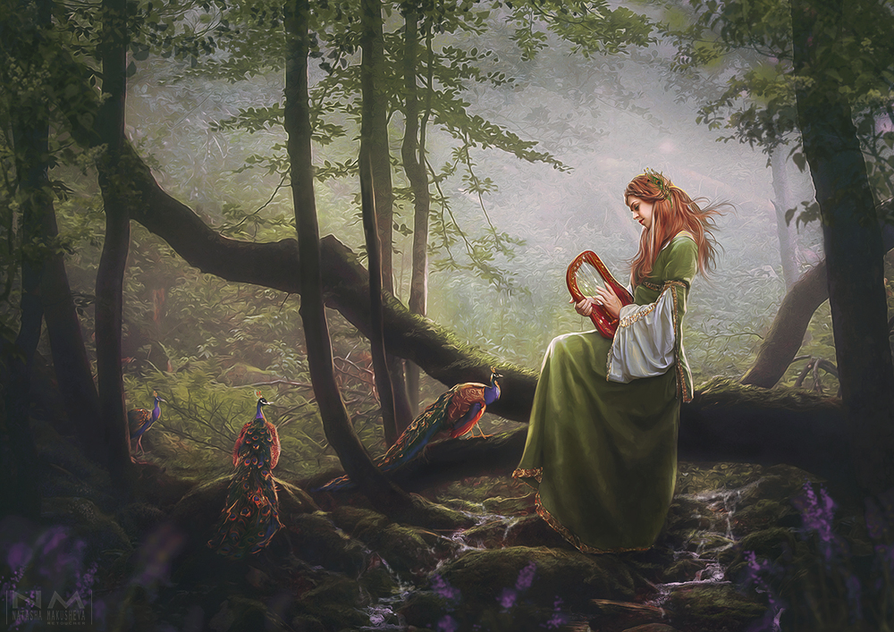 the song of the forest by Makusheva