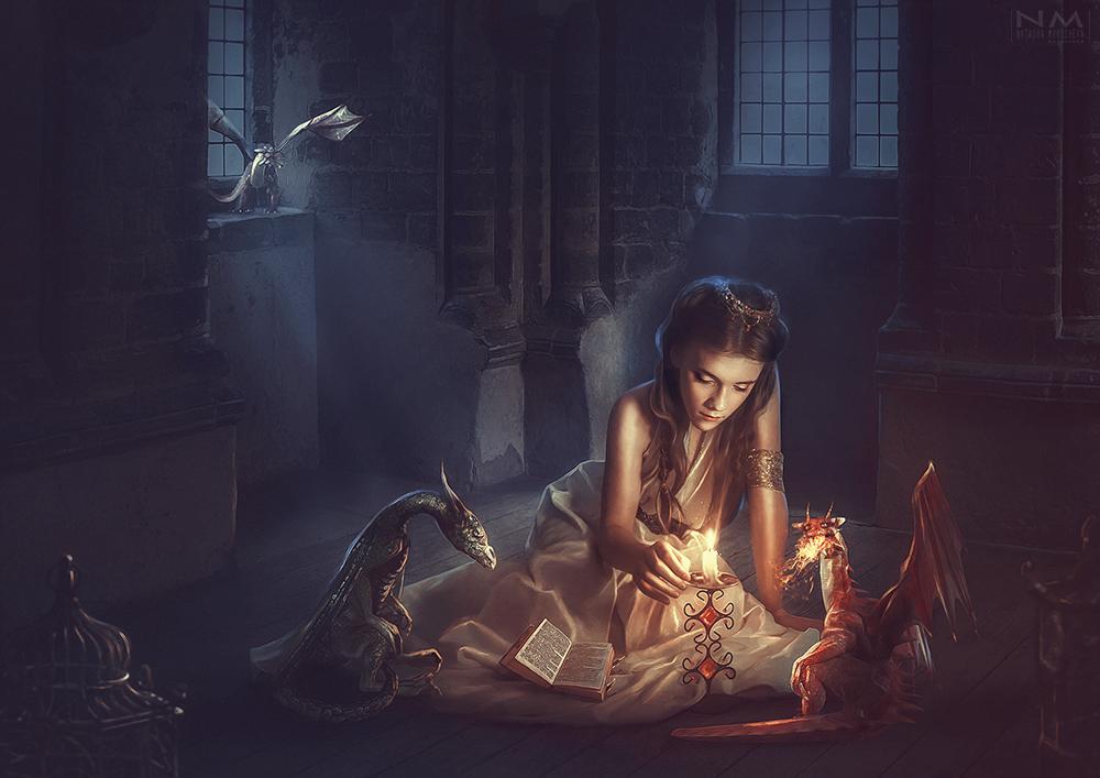 dragon daughter by Makusheva