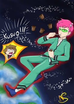 Kusuo in SPACE - The Disastrous Life of Saiki K