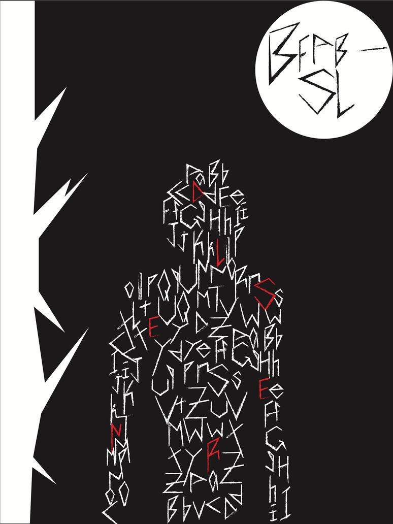 Poster design deviantart - Graphic Design Font Poster By Iloveitall342