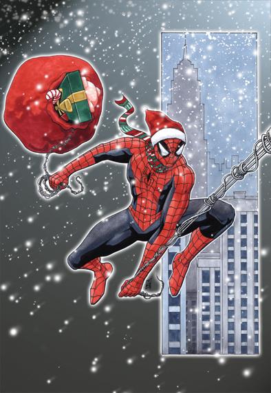 Spiderman Christmas.Spider Man Christmas By Maxpsychosis On Deviantart