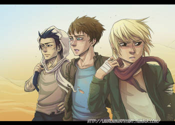 Scorch Trials Trio