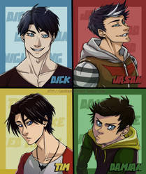 Male Robins
