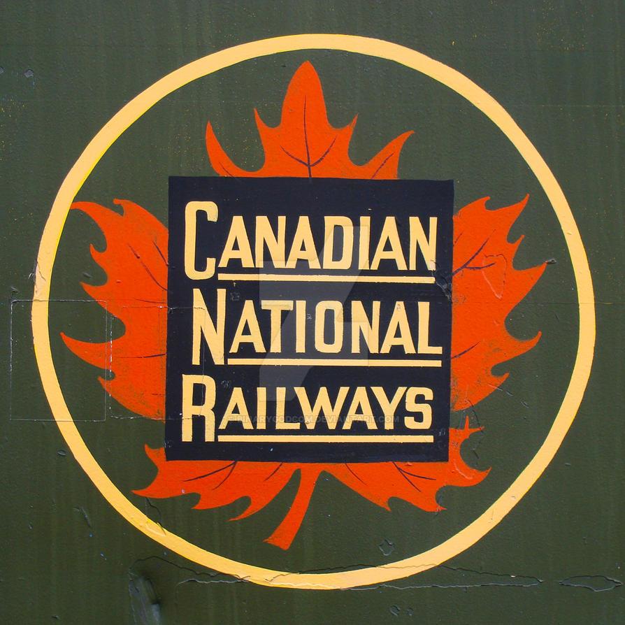 Canadian National Railways logo by binarygodcom on DeviantArt