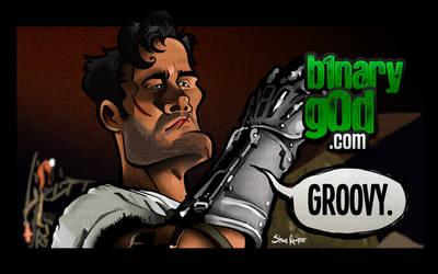 Groovy (Army of Darkness) by binarygodcom