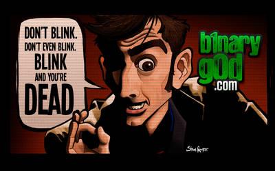 Don't Blink (Doctor Who) by binarygodcom