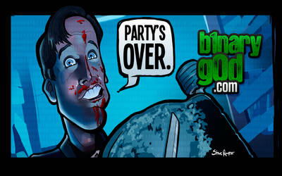 Party's Over (Braindead/Dead Alive) by binarygodcom