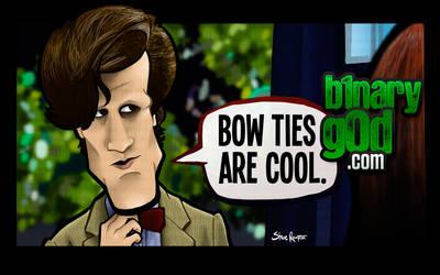 Bow Ties are Cool. (Doctor Who) by binarygodcom