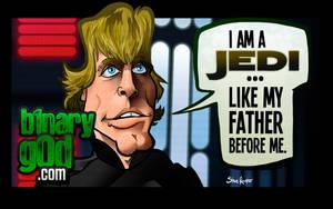 Like Father, Like Son (Return of the Jedi) by binarygodcom