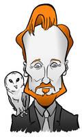 Conan with an Owl by binarygodcom